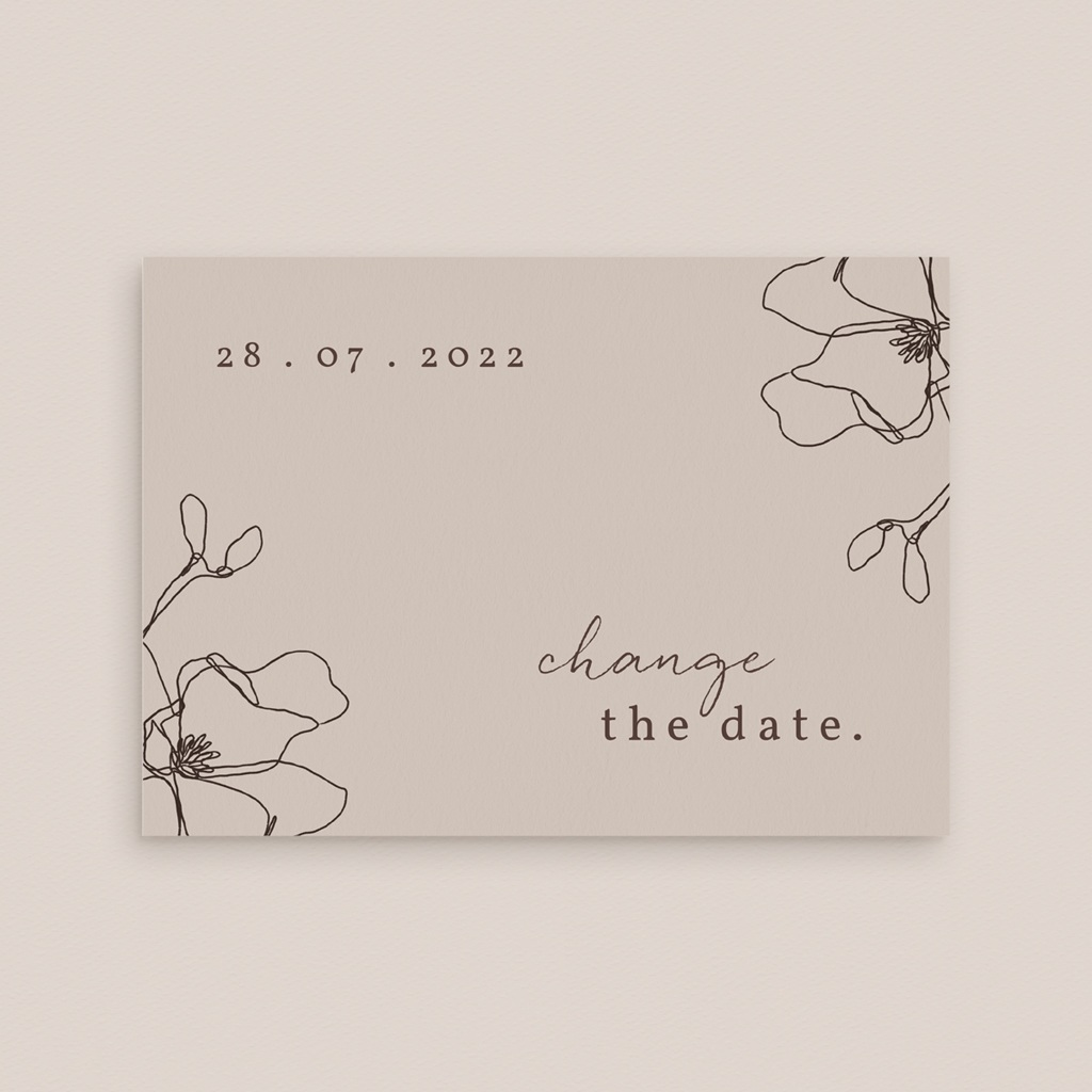 Change the date mariage Empreinte Cerisier, Report gratuit