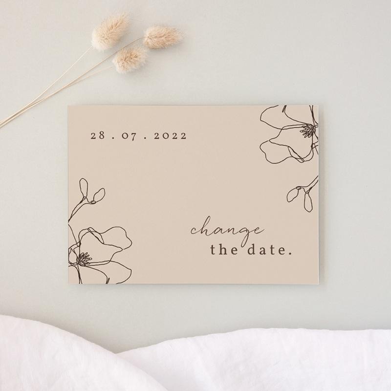 Change the date mariage Empreinte Cerisier, Report