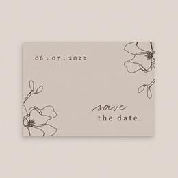 Save-the-date mariage Empreinte Cerisier, Jour J gratuit