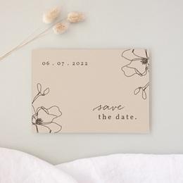 Save-the-date mariage Empreinte Cerisier, Jour J