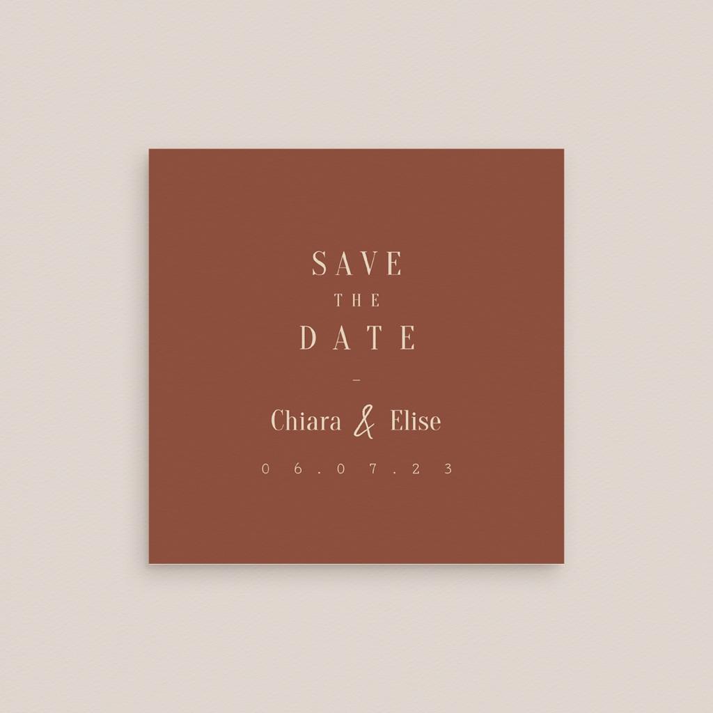 Save-the-date mariage Empreinte de Fleurs sauvages, Jour J gratuit