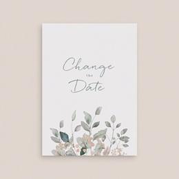 Change the date mariage Pastel de Fleurs & Feuillage, New Date gratuit