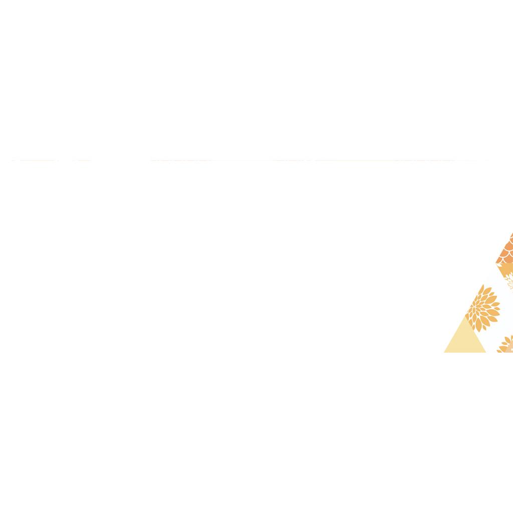 Marque-place mariage Origami jaune gratuit