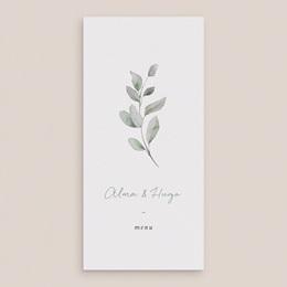 Menu mariage Pastel de Fleurs & Feuillage, Repas gratuit