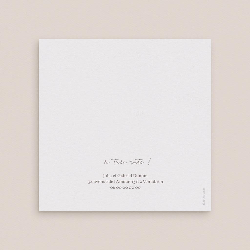 Carte anniversaire de mariage Couronne de Fleurs d'Oranger et photo gratuit