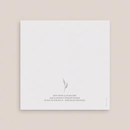 Faire-part de mariage Arche de roses caramel, carré double 14 x 14 gratuit