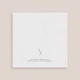 Carte de remerciement mariage Arche de roses caramel, 2 volets 14 x 14 gratuit
