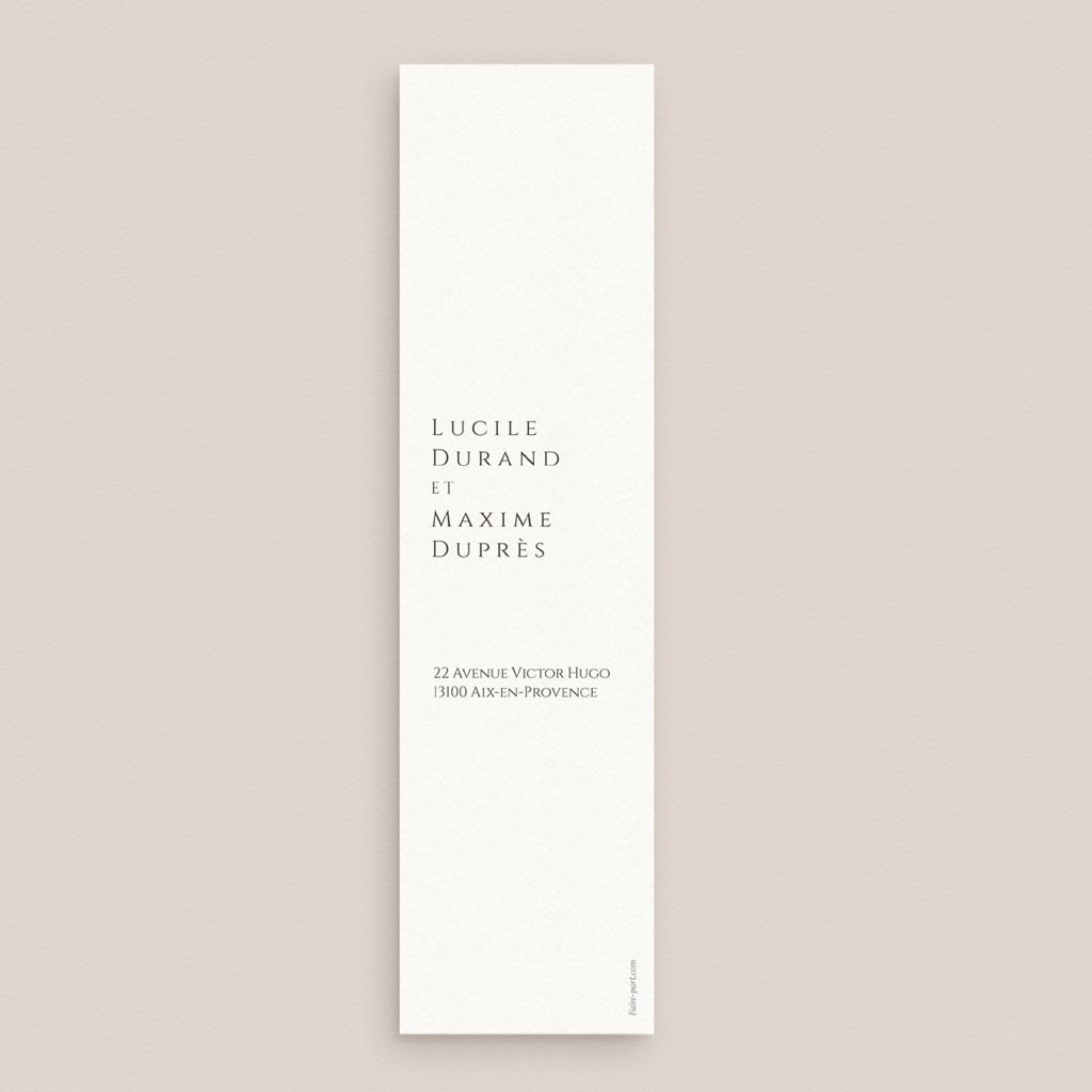 Save-the-date mariage Citrons Terracotta, Jour J, 5,5 X 21 cm pas cher