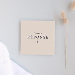 Carton réponse mariage Arche de Minuit