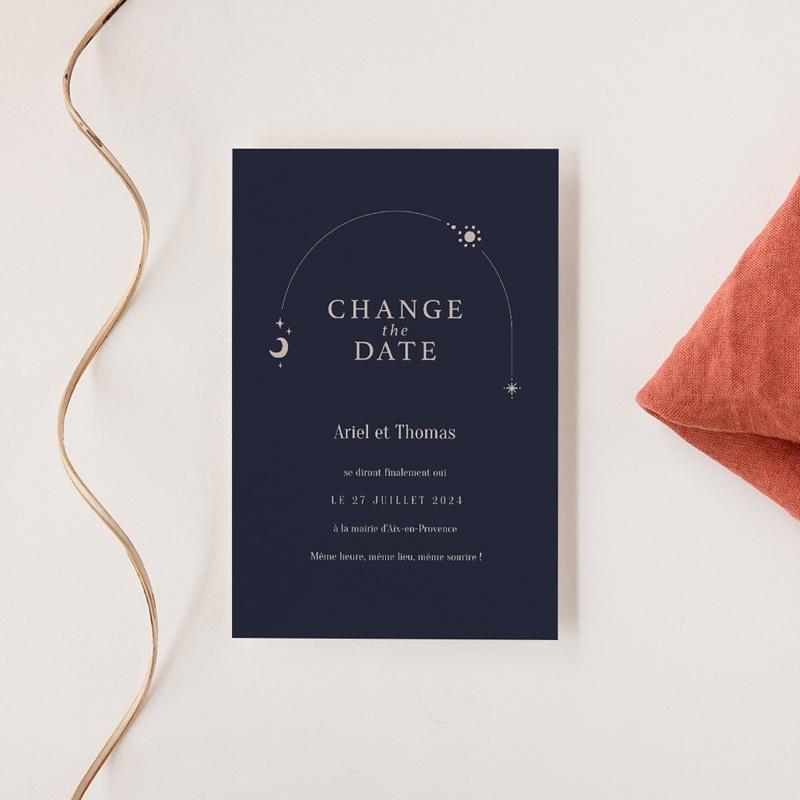 Change the date mariage Arche de Minuit