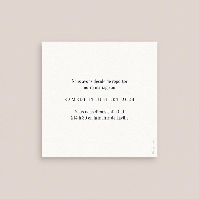 Change the date mariage Arche de Minuit info pas cher