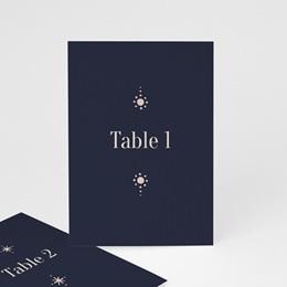 Marque table mariage Arche de Minuit