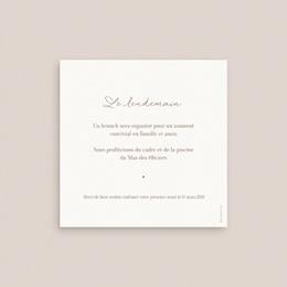 Carte invitation Brunch Soleil de minuit, brunch pas cher