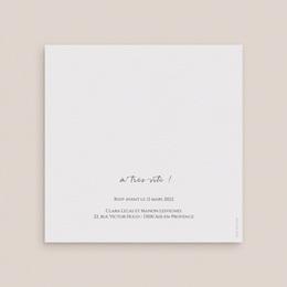 Faire-part de mariage Grenades Terracotta, 14 x 14 cm gratuit