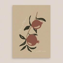 Faire-part de mariage Grenades Terracotta, 15 x 21 cm gratuit