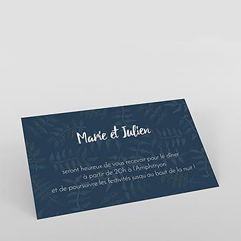 Carte d'invitation mariage Wild Love
