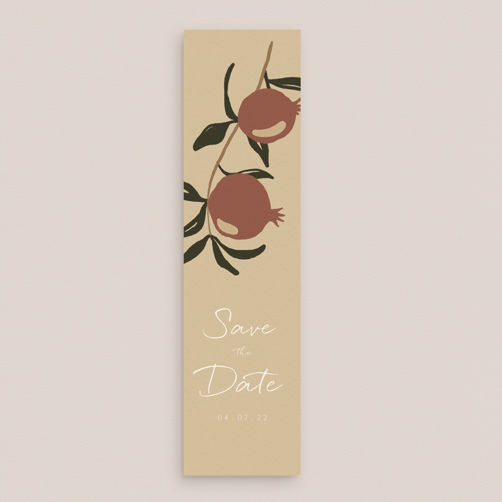 Save-the-date mariage Grenades Terracotta, pense-bête gratuit