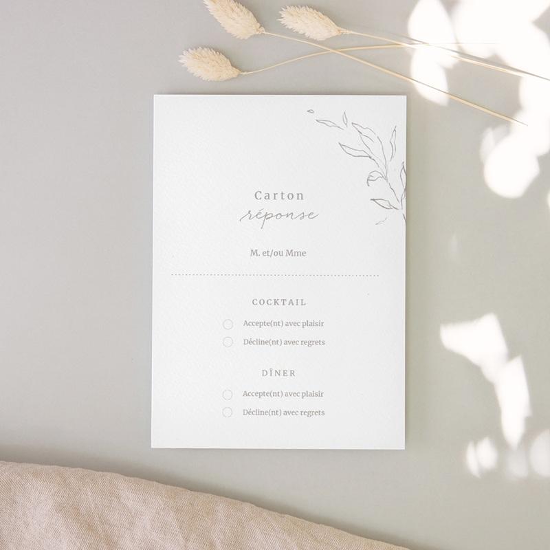 Carton réponse mariage Kinfolk, Rsvp