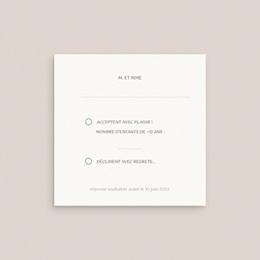 Carton réponse mariage Provence Champêtre, Rsvp pas cher