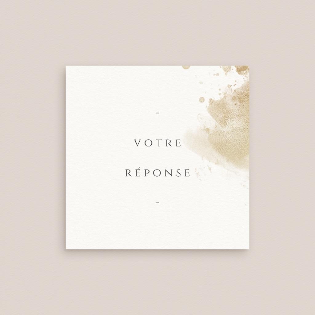 Carton réponse mariage Provence Champêtre, Rsvp gratuit