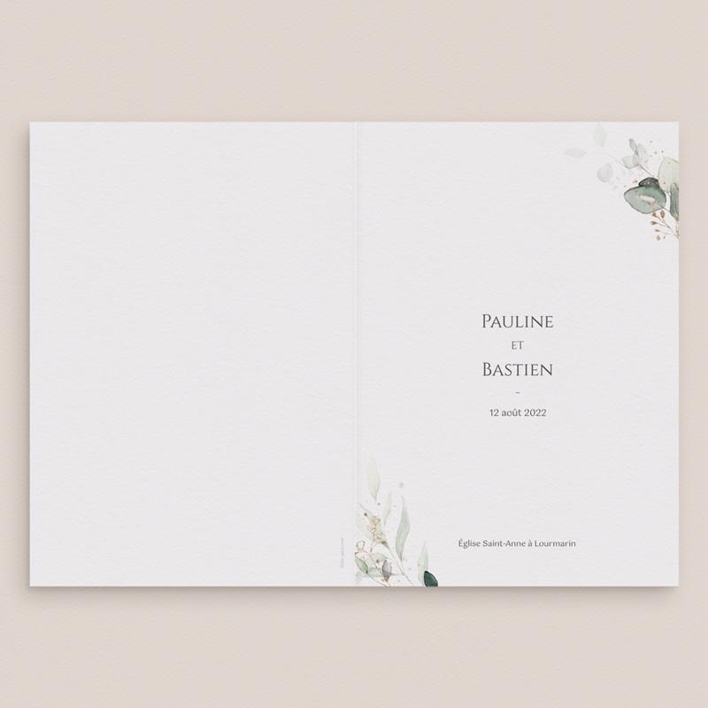 Livret de messe mariage Provence Champêtre, cérémonie gratuit