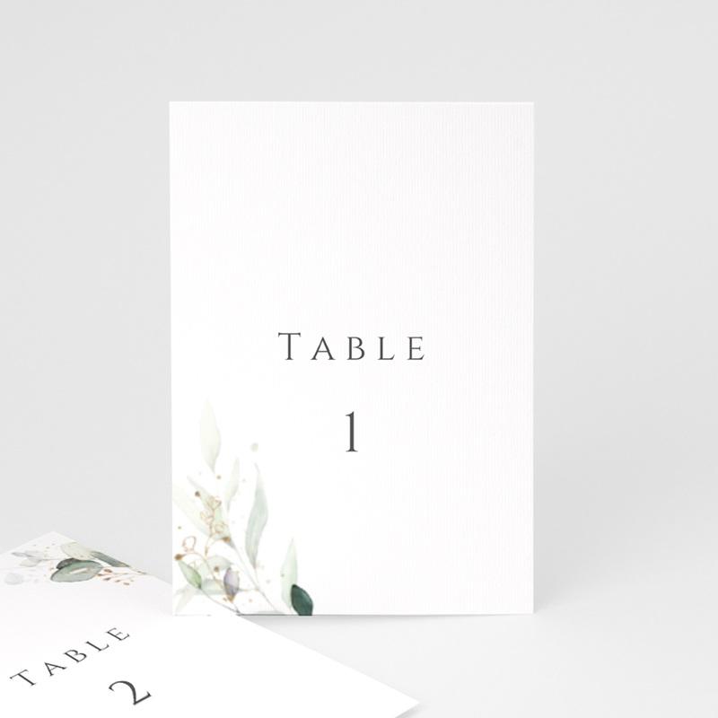 Marque table mariage Provence Champêtre, 3 repères