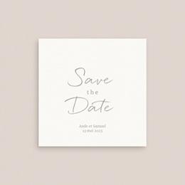 Save-the-date mariage Kinfolk, Date à retenir gratuit