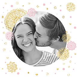 Faire-part de mariage Paillettes pas cher