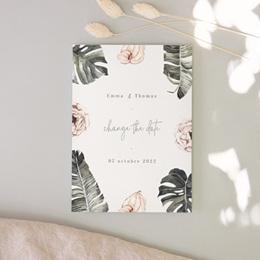 Change the date mariage Bananier Monstera & Fleurs, New Date