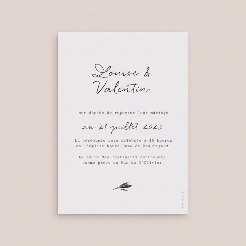 Change the date mariage Bouquet fleurs pourpres, New date pas cher