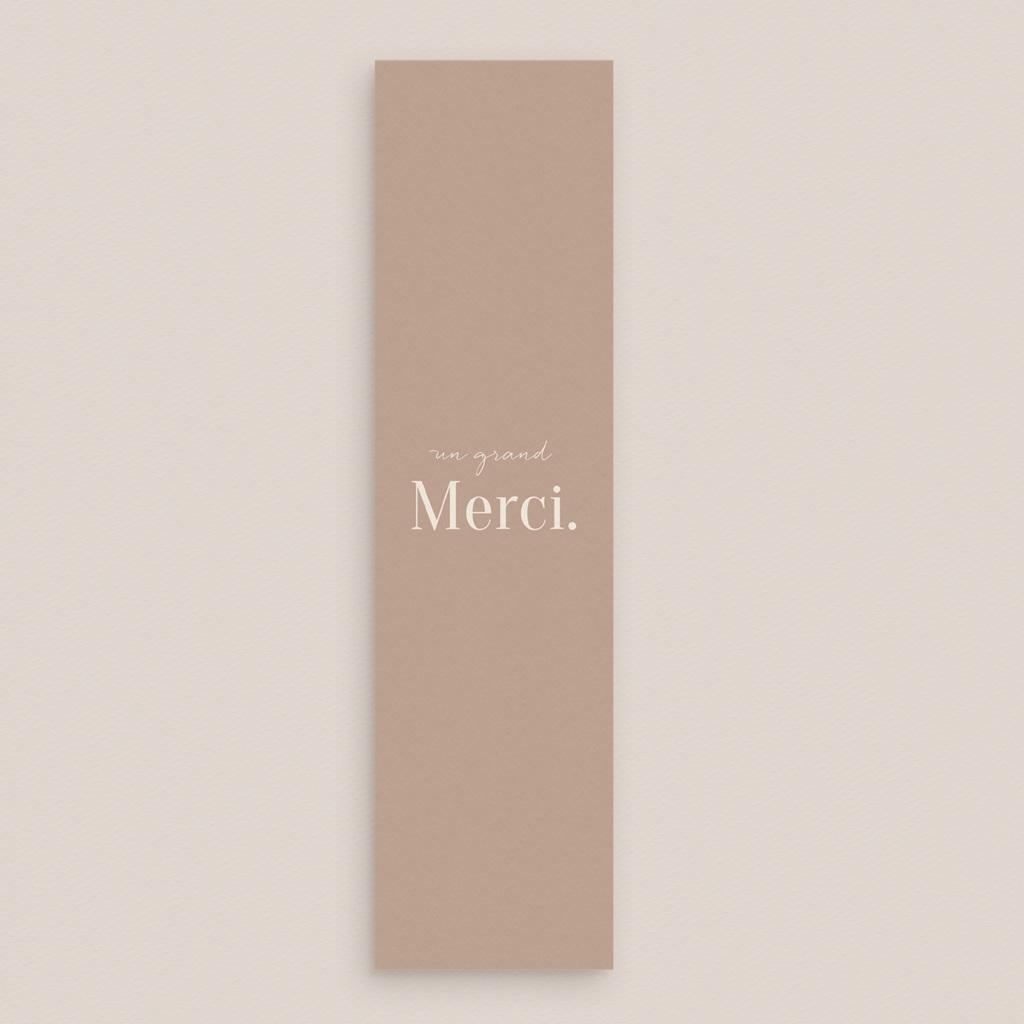 Carte de remerciement mariage Typographie & Couleur, 2 photos gratuit
