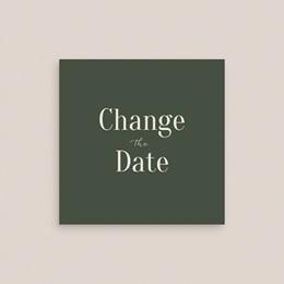 Change the date mariage Typographie & Couleur, 10 x 10 cm gratuit