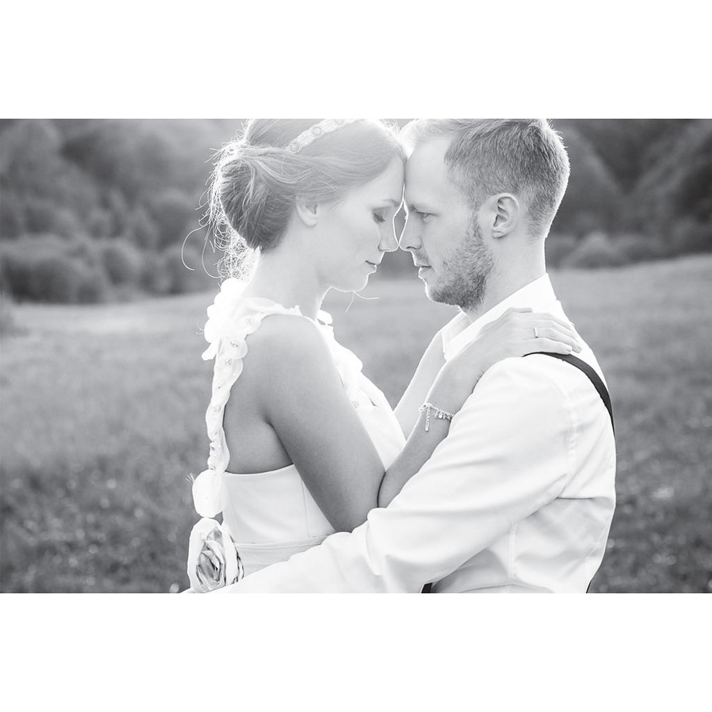 Carte de remerciement mariage Fleuri Chic gratuit