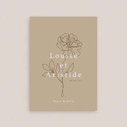 Carte anniversaire de mariage Noces de Bois, de cretonne, de Perle gratuit