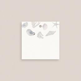 Marque-place mariage Coquillages & coraux Aquarelle, 4,5 cm gratuit