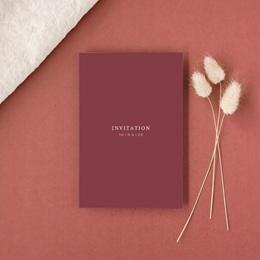 Carte d'invitation mariage Romance Florale, réception gratuit