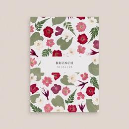 Carte invitation Brunch Romance Florale, Brunch,10 x 14 cm gratuit