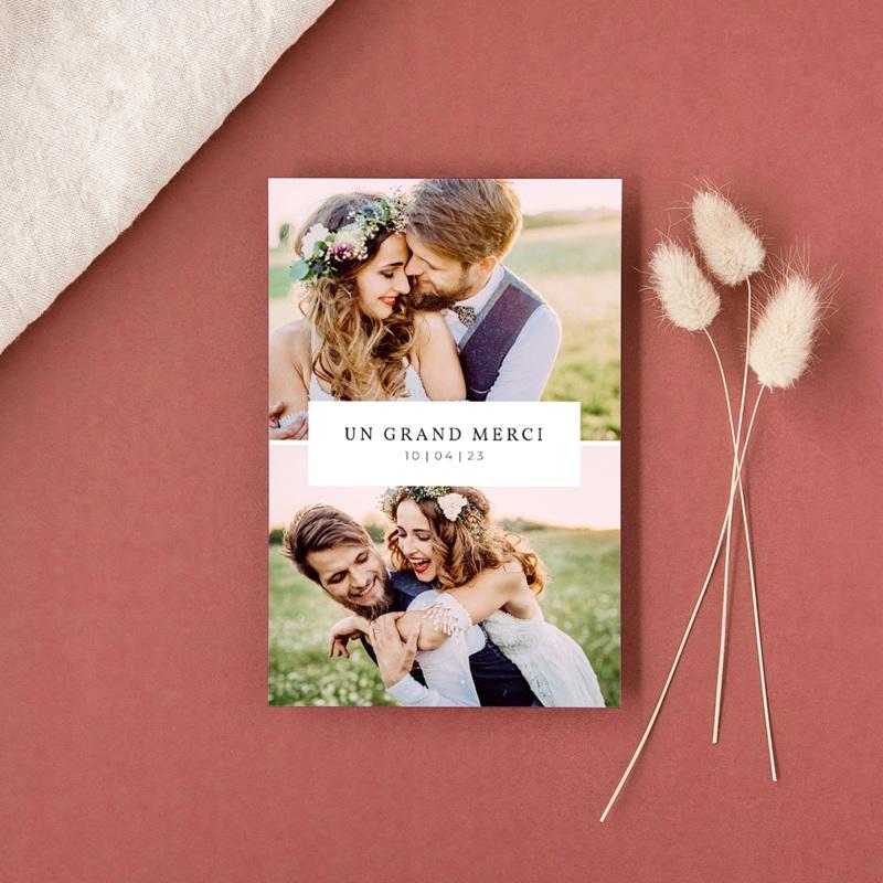 Carte d'invitation mariage Romance Florale, 10 x 15 cm gratuit