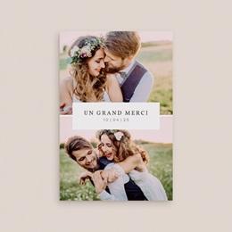 Carte d'invitation mariage Romance Florale, 10 x 15 cm