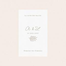 Etiquette bouteille mariage Diadème Doré, 8 x 13 cm pas cher