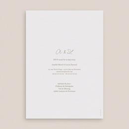 Faire-part de mariage Diadème Doré, 15 x 21 cm pas cher