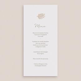 Menu mariage Diadème Doré, repas de noces gratuit