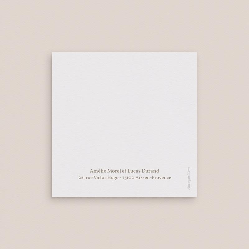 Save-the-date mariage Diadème doré, D-Day, 9,5 x 9,5 cm gratuit