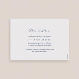 Change the date mariage Sous la voûte étoilée, Nouvelle Date pas cher