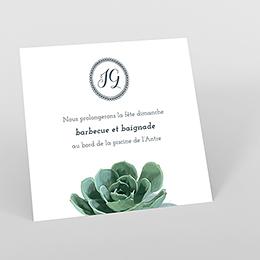 Carte d'invitation mariage Arizona