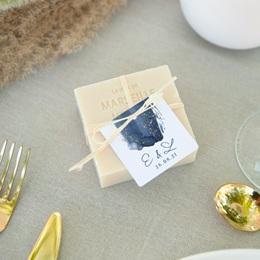Etiquettes cadeaux mariage Sous la voûte étoilée, 4,5 cm