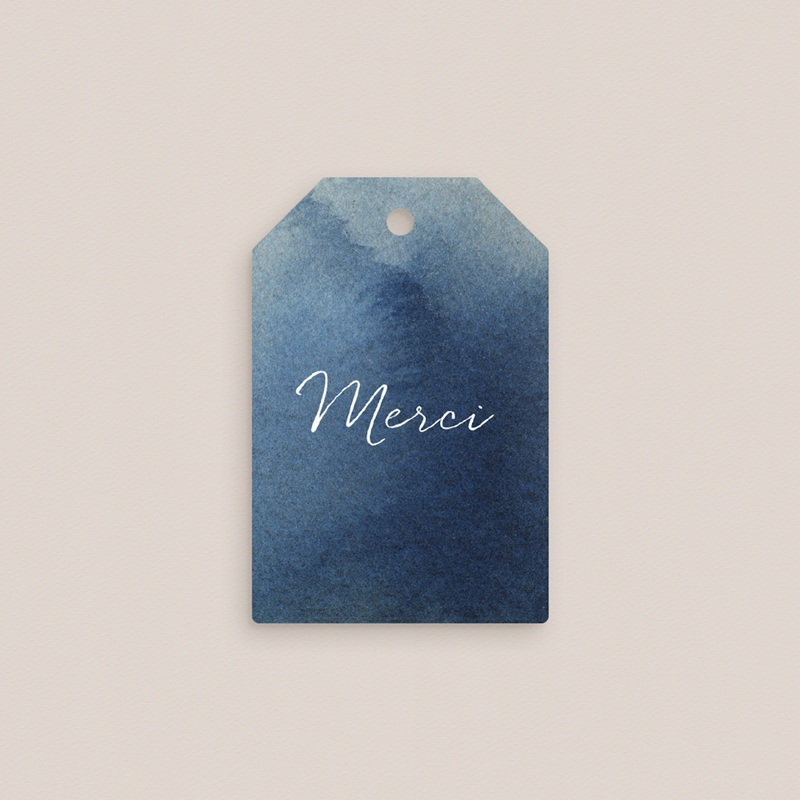 Etiquettes cadeaux mariage Sous la voûte étoilée, 6 x 4 cm pas cher