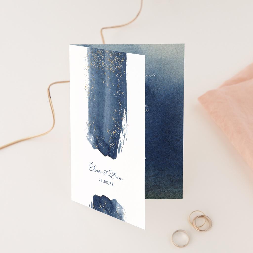 Faire-part de mariage Sous la voûte étoilée, 12 x 17 cm