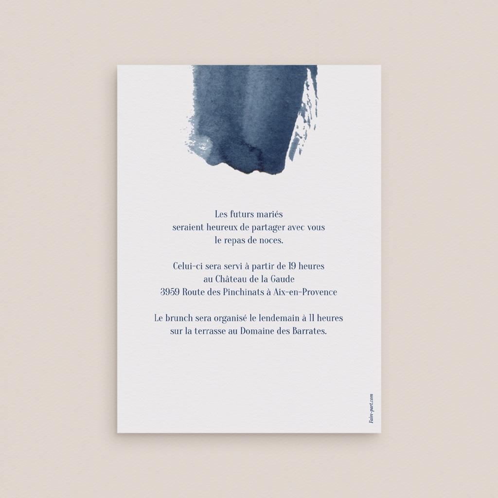 Carte invitation Brunch Sous la voûte étoilée pas cher