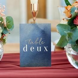 Marque table mariage Sous la voûte étoilée, 3 repères gratuit